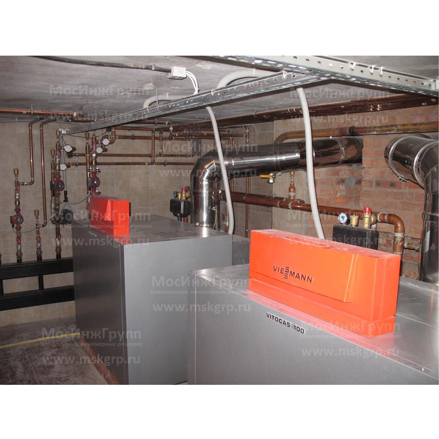 Установка газового котла Viessmann