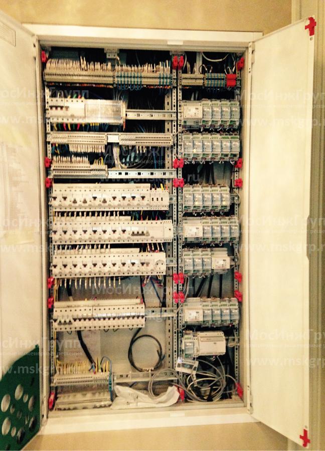 Щит умного дома с электрикой