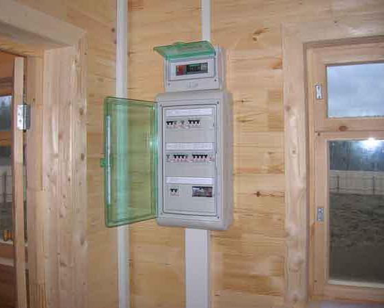 elektrika-v-derevyannom-dome-