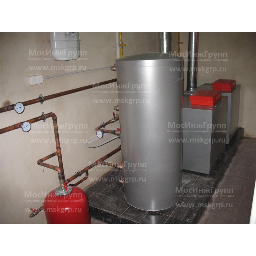 Монтаж напольных газовых котлов Viessmann
