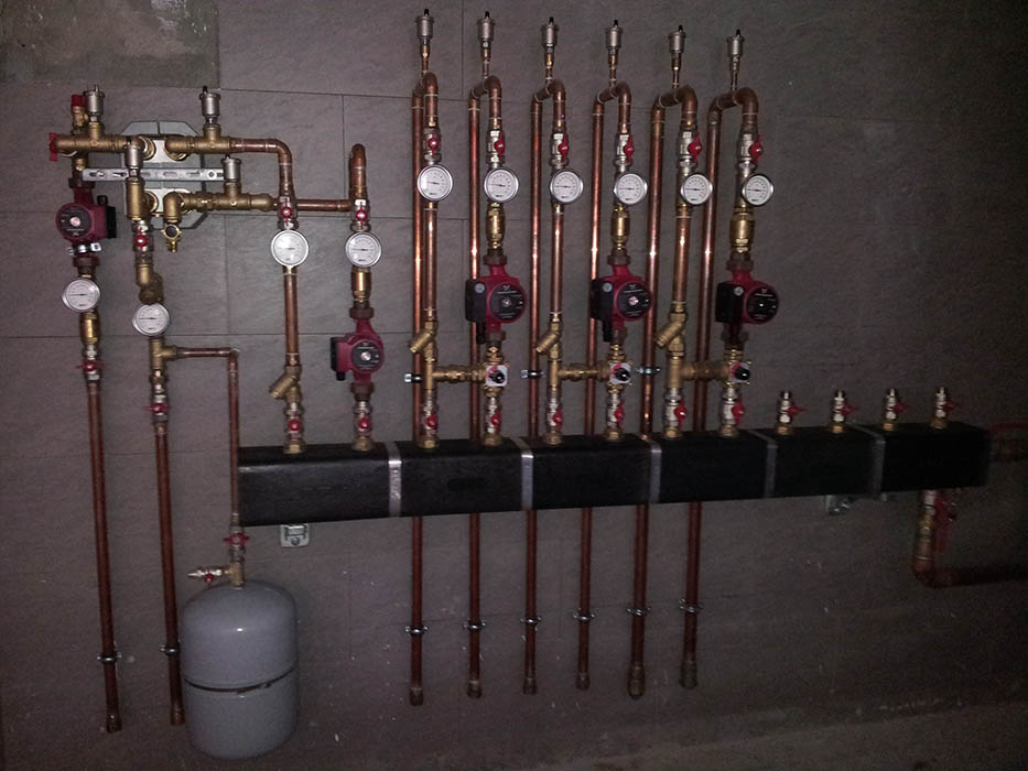 Отопление в частном доме под