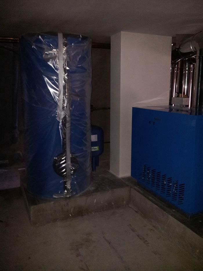 Установка системы отопления дома